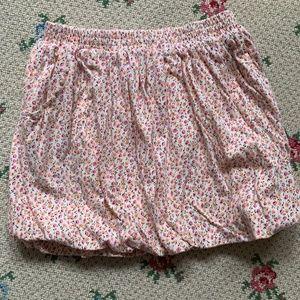 Little Girls J.crew flower bubble skirt